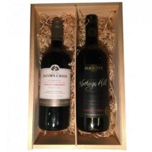 Wijnkist 2 rode wijnen